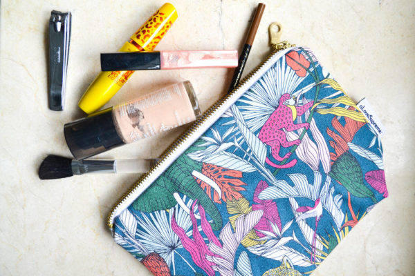 74Wild at Heart – MAKEUP POUCH
