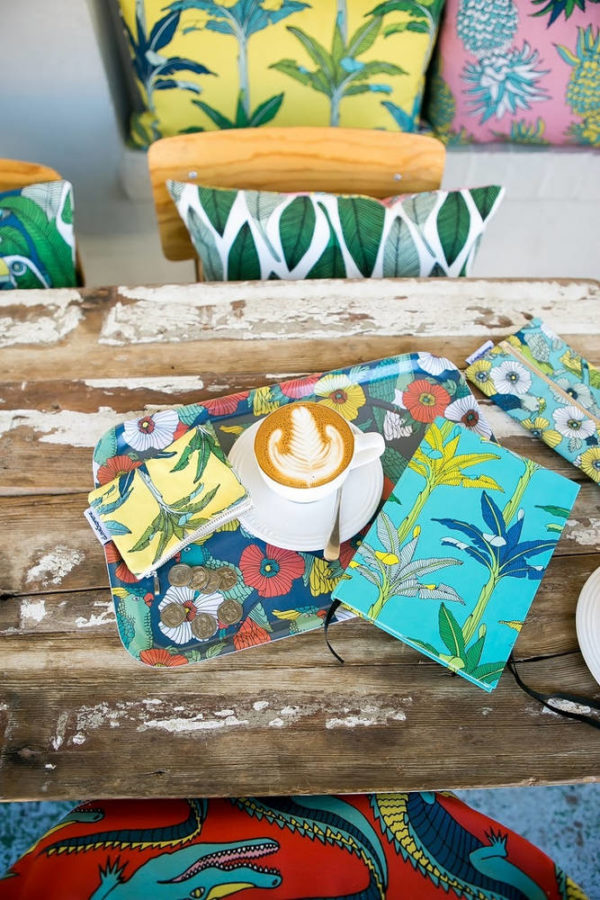 78Jungle Fever – CUSHION COVER – A4 BOOK – DINNER TRAY – COIN PURSE