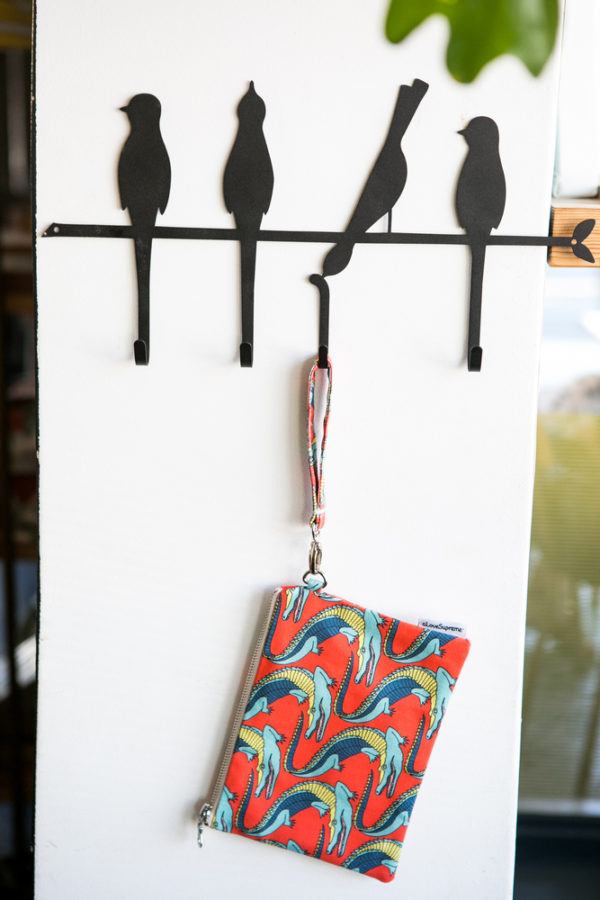 276Jungle Fever- POUCH WITH STRAP