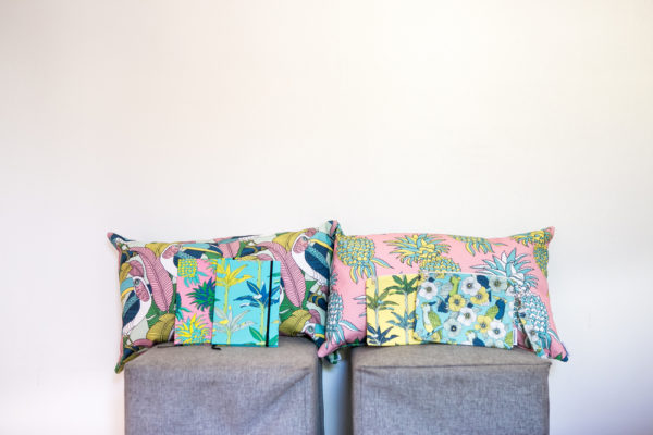 279Jungle Fever- CUSHION COVER- A5 BOOK- POUCH WITH STRAP