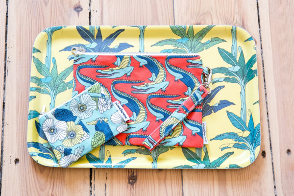 300Jungle Fever- COIN PURSE- DINNER TRAY- POUCH WITH STRAP