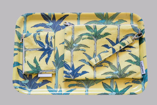 301Jungle Fever- DINNER TRAY- POUCH WITH STRAP