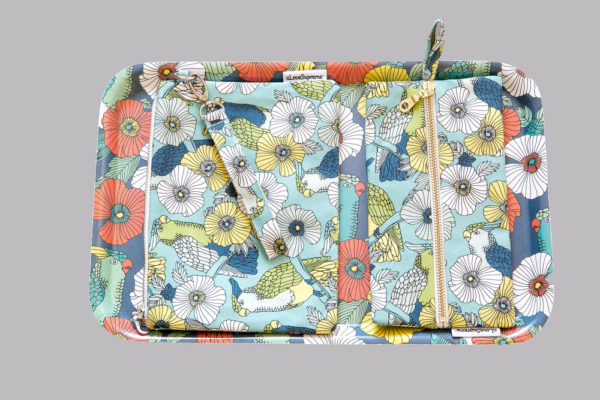 303Jungle Fever- DINNER TRAY- SMALL PENCIL CASE- POUCH WITH STRAP