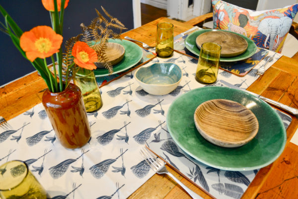 54Wild at Heart – TABLE RUNNER – MELMINE PLACEMAT