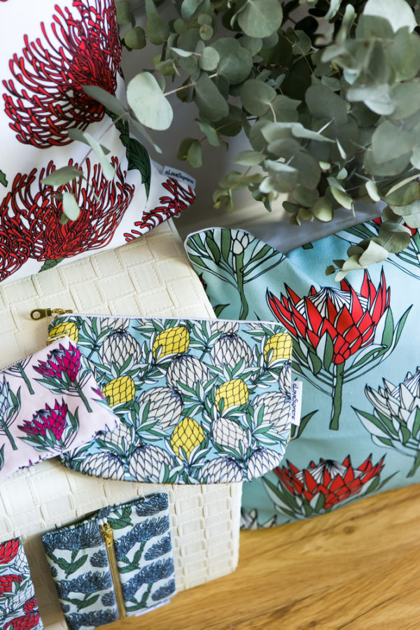 56Protea Collection- CUSHION COVERS- POUCH