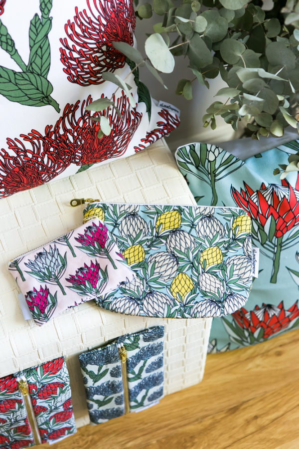57Protea Collection- CUSHION COVERS- POUCH- COIN PURSE