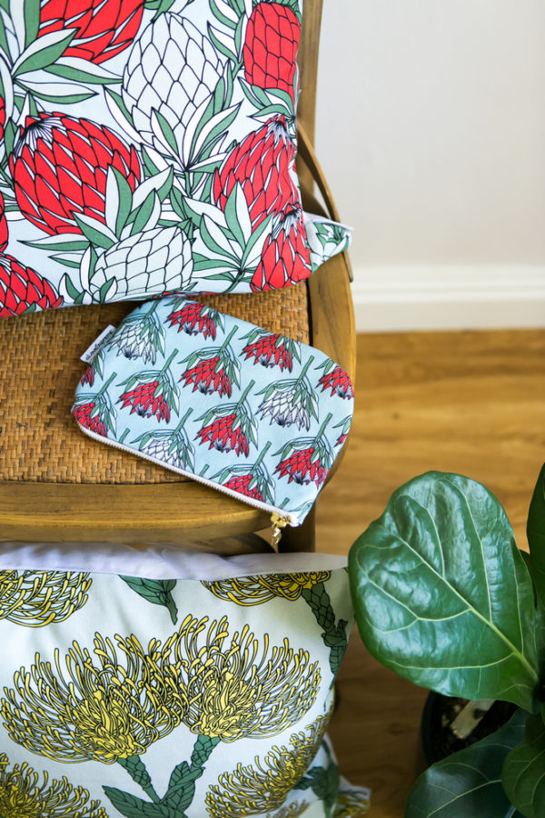 61Protea Collection- CUSHION COVERS- POUCH